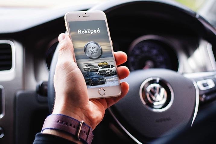 Rokšped Auto Centar aplikacija